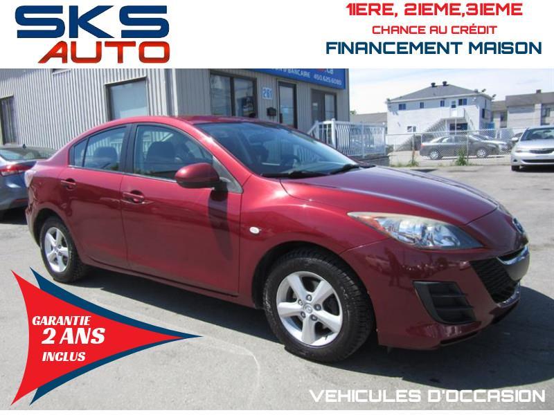 Mazda Mazda3 2010 GS (GARANTIE 2 ANS INCLUS) *FINANCEMENT MAISON* #SKS-4379-1