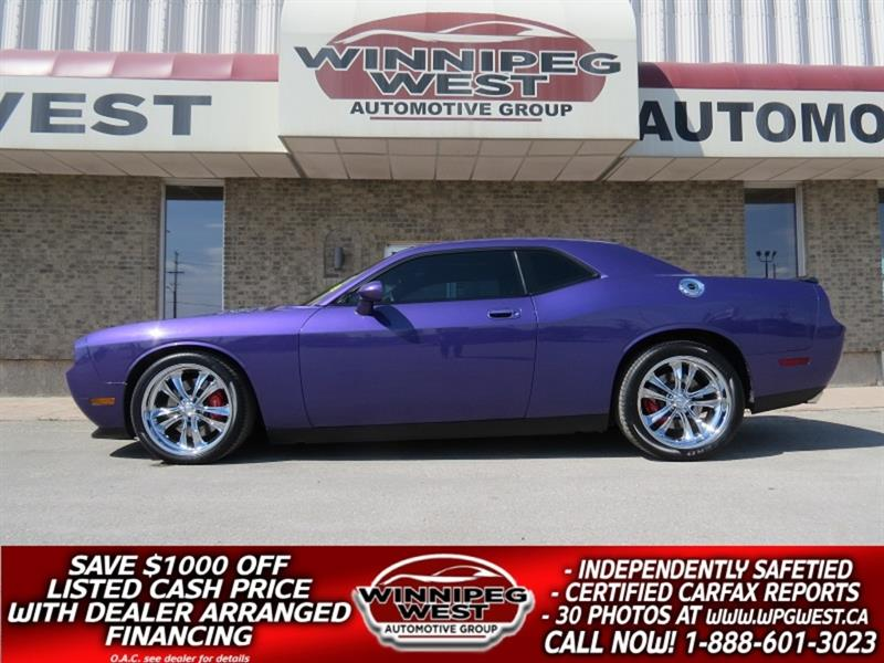 2010 Dodge Challenger SRT8 SUPERCHARGED CUSTOM ROAD REAPER HELLCAT EATER #W5120