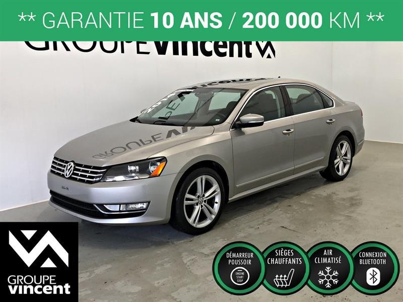 Volkswagen Passat 2014 TDI HIGHLINE GPS CUIR TOIT ** GARANTIE 10 ANS ** #2566AT