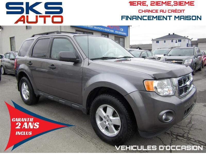 Ford Escape 2012 XLT (GARANTIE 2 ANS INCLUS) FINANCEMENT MAISON #SKS-4366-3
