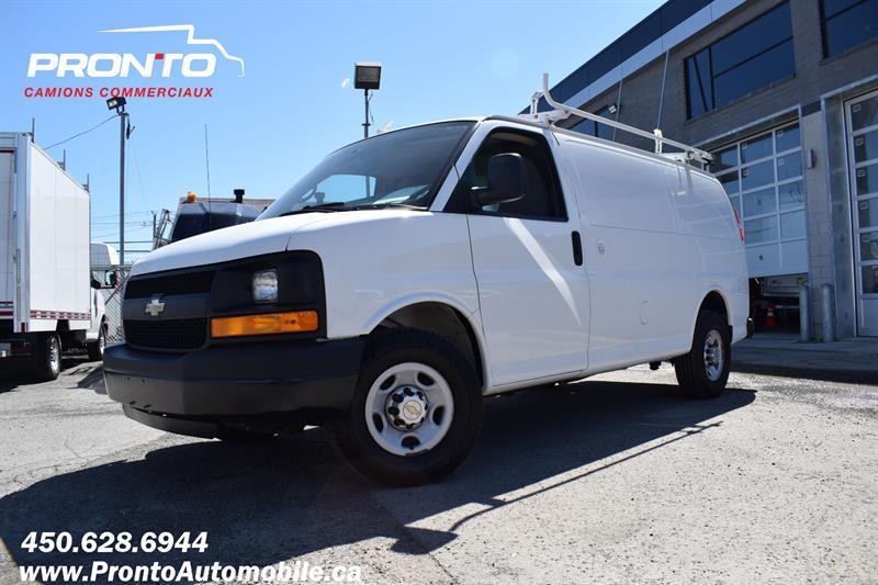 2014 Chevrolet Express Cargo Van RWD 2500 135 ** Voir équipement ** #1889