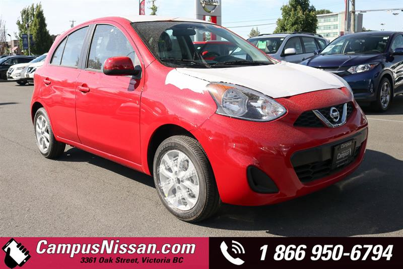 2019 Nissan Micra SV FWD w/ Style Package #9-A265-NEW