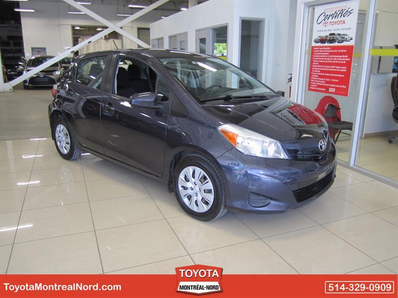 Toyota Yaris 2014 HB LE Aut/Ac/Vitres,Portes,Miroirs Electriques  #3810 AT