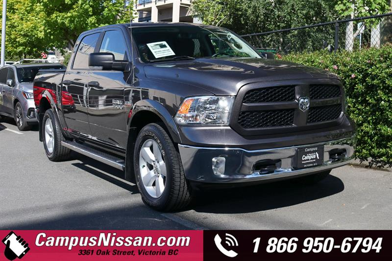2017 Ram 1500 | Outdoorsman | 4WD w/ Reverse Camera #JN3225A1