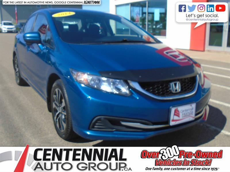 2014 Honda Civic Sedan EX | Manual #9874A