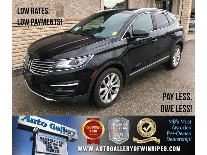 2015 Lincoln MKC *AWD/Htd Lthr/Pano Roof/Bluetooth/2.0L #23629