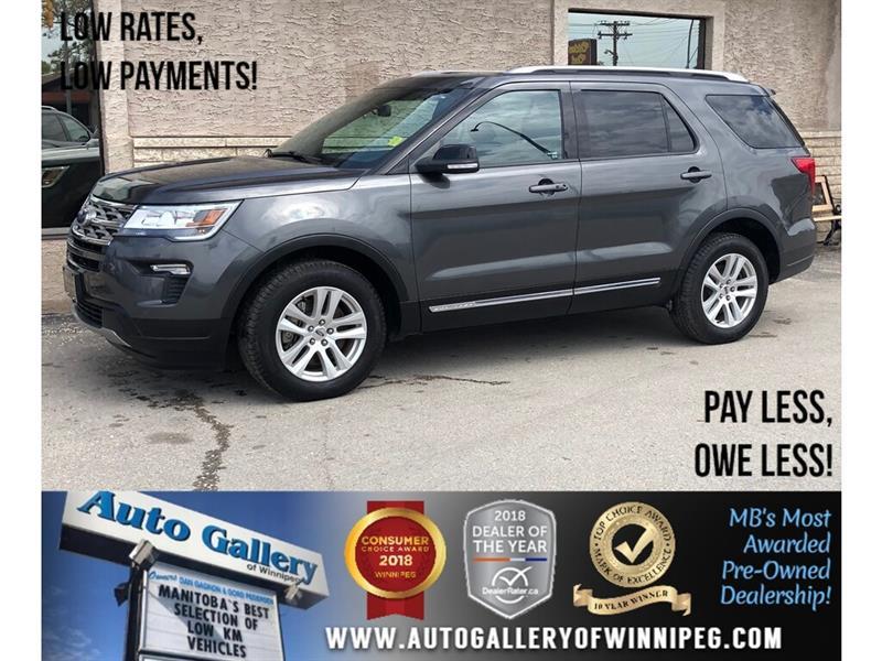 2018 Ford Explorer XLT *AWD/Lthr/Roof/Bluetooth/Navi #23872