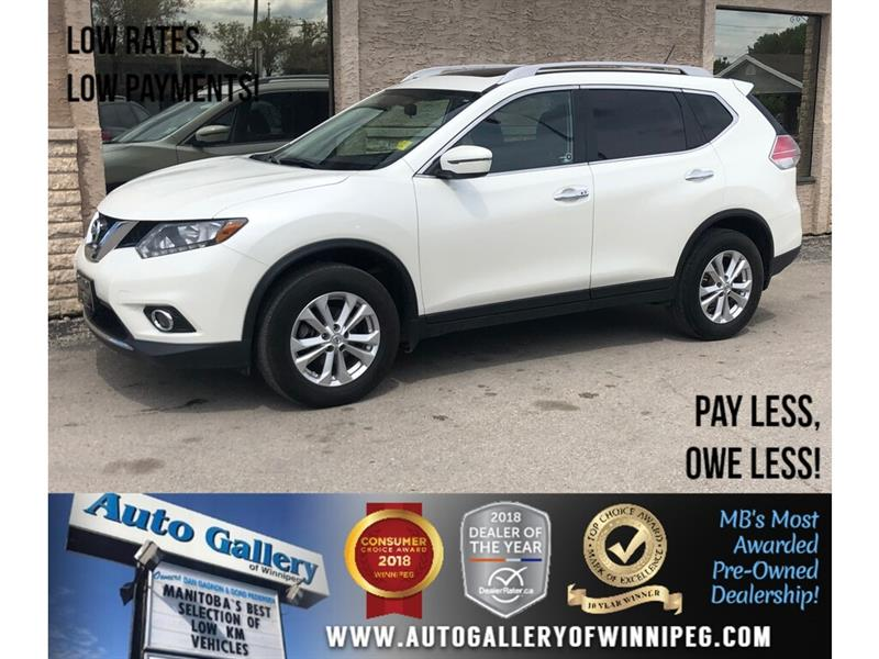 2016 Nissan Rogue SV *AWD/Bluetooth/Htd Seats/Roof #23904