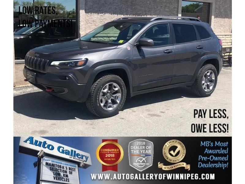 2019 Jeep Cherokee Trailhawk Elite *4X4/Lthr/Navi #23945