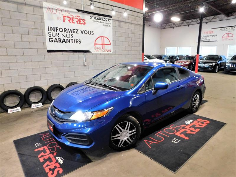 Honda Civic Sedan 2014 Coupe Auto EX #863