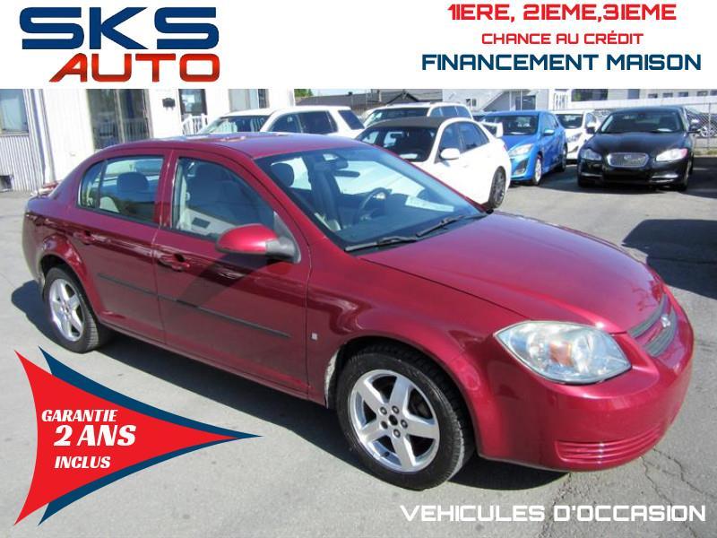 Chevrolet Cobalt 2009 LT (GARANTIE 2 ANS INCLUS) FINANCEMENT MAISON #SKS-4390-