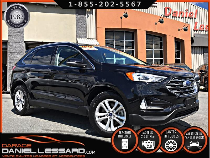 Ford EDGE 2019 SEL AWD 2.0 L ECOBOOST, ANGLES MORT, CLEAN TITLE ! #99359