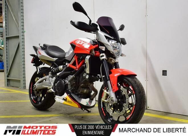 Aprilia Shiver 750 2012