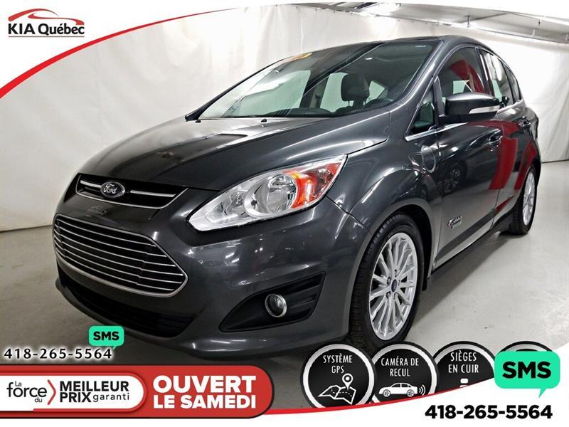 Ford C-max Energi 2016 SEL* GPS* CAMERA DE RECUL* SIEGES CHAUFFANTS* #QU10808