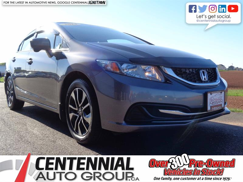 2014 Honda Civic Sedan EX | Local Trade  #SP19-022A