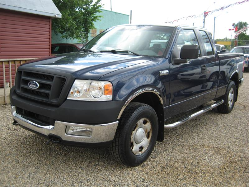 2005 Ford F-150 Supercab 4WD #D43941