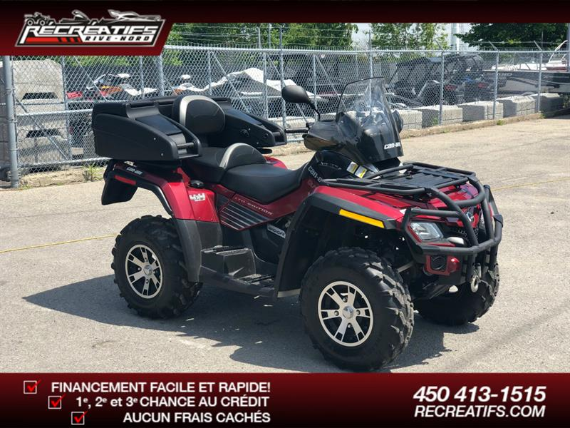 Can-am Outlander 800R 2009