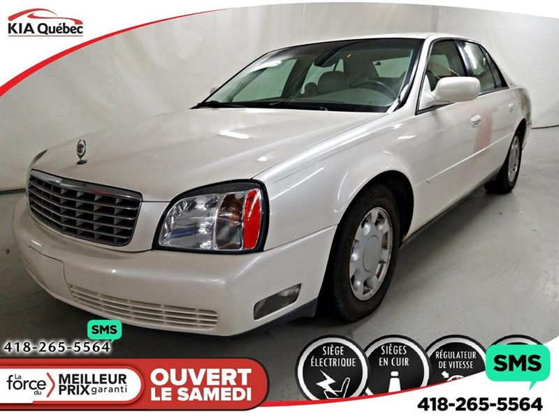 Cadillac DeVille 2000 AUTOMATIQUE* V8* CUIR* CLIMATISATION DEUX ZONES* #YAN