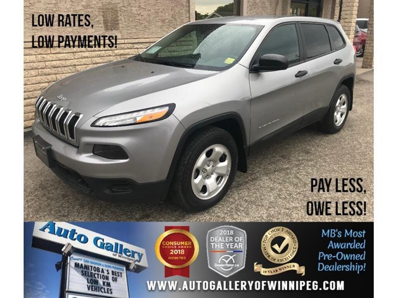 2016 Jeep Cherokee Sport *4X4/V6/9Spd Auto #23723
