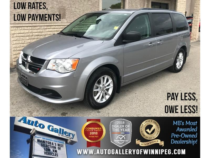 2016 Dodge Grand Caravan SXT *B.cam/Rear Air #23837A