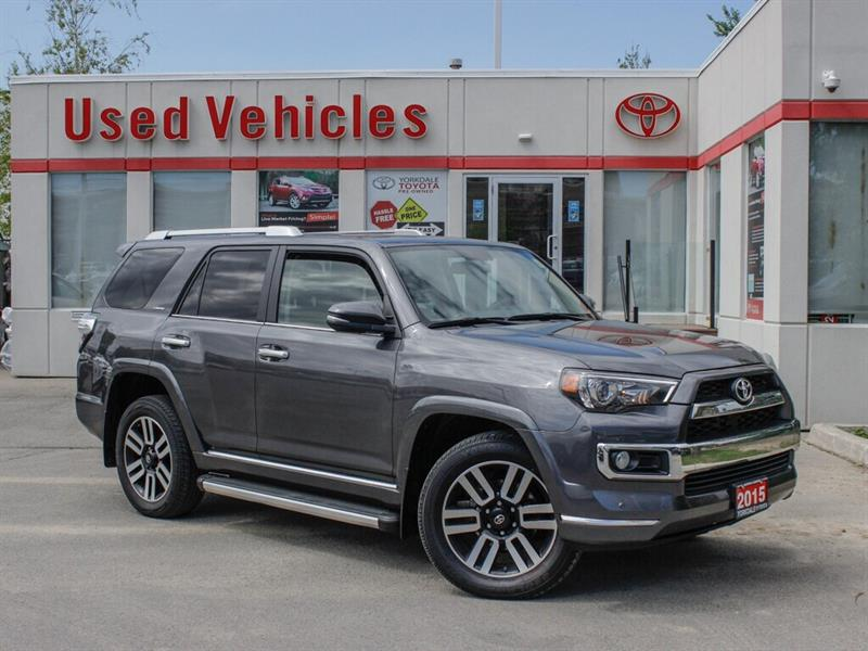 2015 Toyota 4Runner ONE OWNER   LIMITED   NAVI   BCKP. CAM   HEATED & #L8089