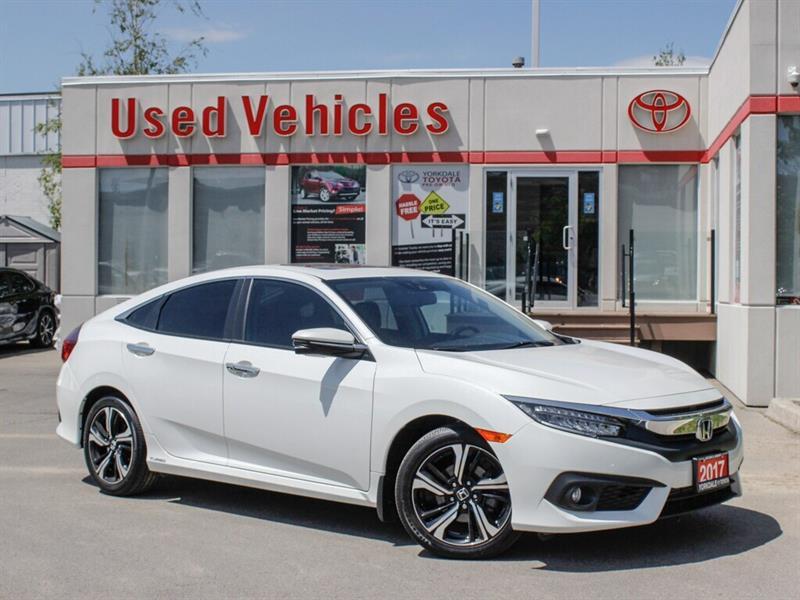 2017 Honda Civic TOURING   NAVI  BCKP CAM   FRONT & REAR H.SEATS #C8090