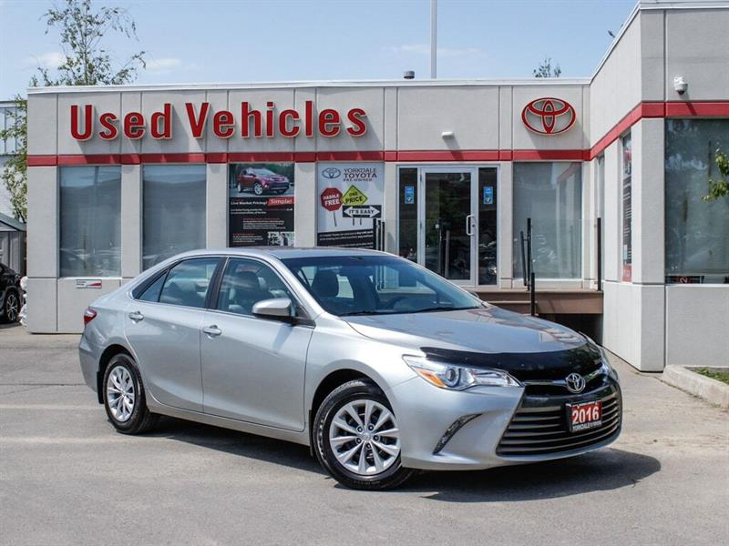2016 Toyota Camry LE  BCKP CAM  HTD SEATS #C8101