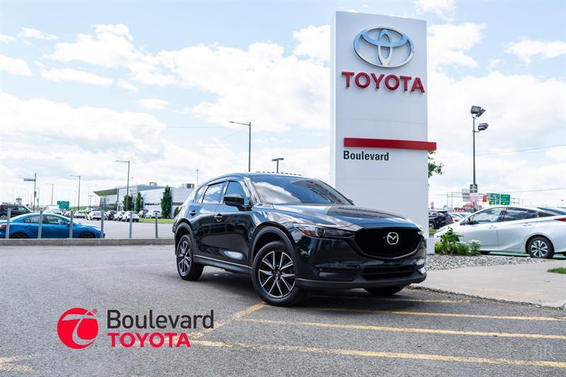 Mazda CX-5 2018 * GT AWD / CUIR + TOIT + NAVIGATION  * #85231A