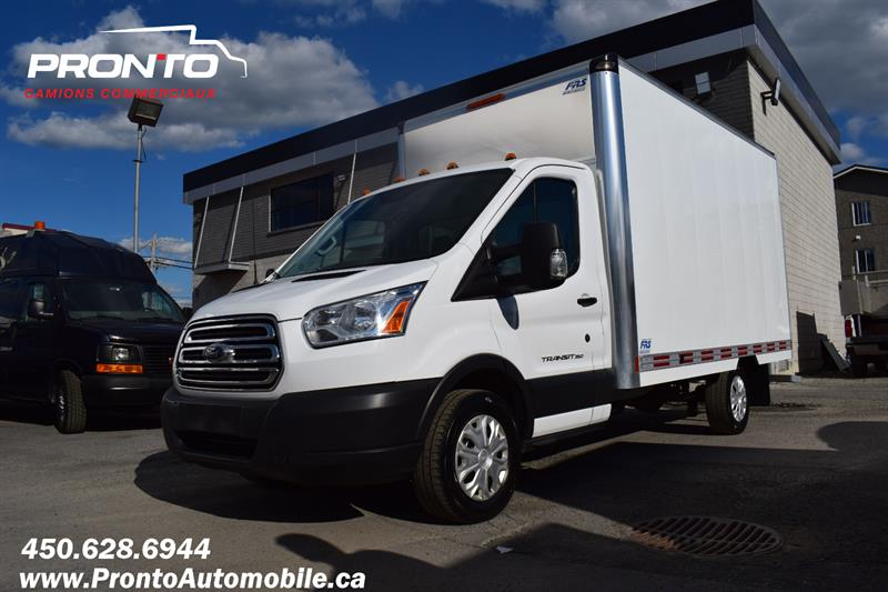 Ford Transit Chassis Cab 2015 ** PROPANE ** CUBE 13 PIEDS ** T350 ** #1893