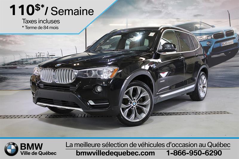 BMW X3 2016 xDrive28i #22720A