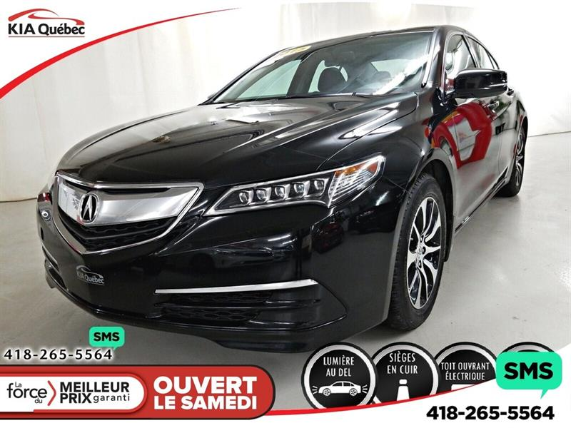 Acura TLX 2015 SIEGE ELECTRIQUE  *TOIT OUVRANT *CUIR *CAMERA #QU10670