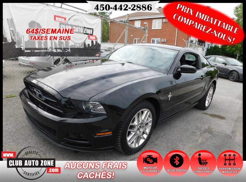 Ford Mustang 2014 COUPÉ V6 PREMIUM MANUELLE #E5307561