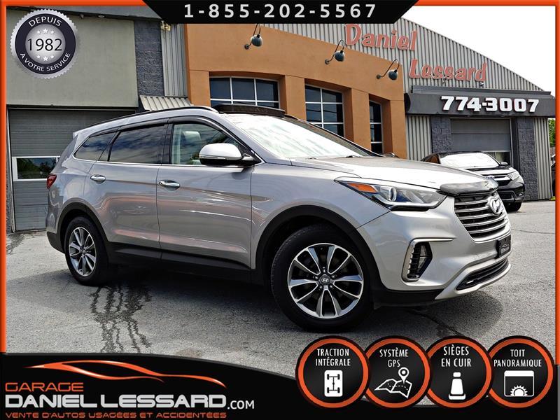 Hyundai SANTA FE XL 2017 AWD, LUXURY, 7 PLACES, GPS, MAG, TOIT PANO, PAS VG #79375