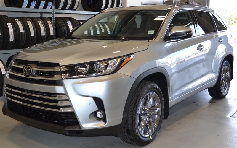 2019 Toyota Highlander AWD Limited #DZ8404