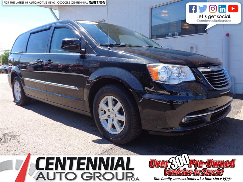 2012 Chrysler Town - Country Stow N Go | DVD | Bluetooth | Backup Camera #19-184A