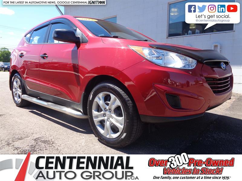 2012 Hyundai Tucson GL | FWD | Bluetooth | Heated Seats #19-153A
