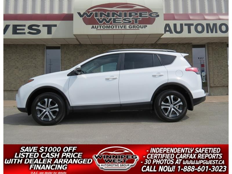 2017 Toyota RAV4 LE FUEL EFFICIENT FWD, HTD SEATS, BLUETTH AND MORE #GIW5104