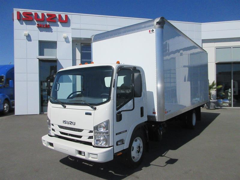 2020 Isuzu NRR 19,500 GVW 20Ft Van & Tailgate - #20067
