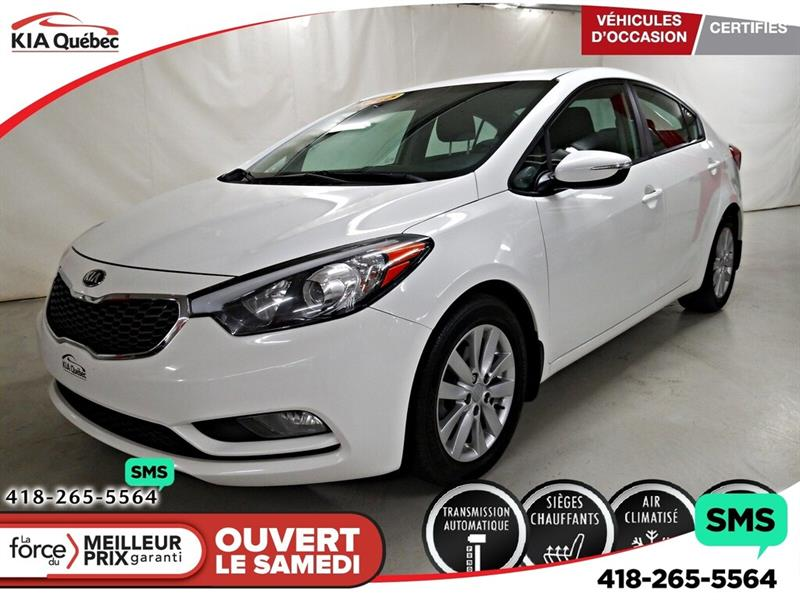 Kia Forte 2015 LX+** SIEGES CHAUFFANTS* BLUETOOTH* #K191673A
