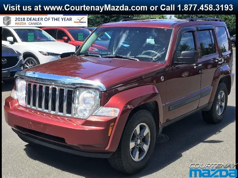 2008 Jeep Liberty Sport 4D Utility 4WD #P4896
