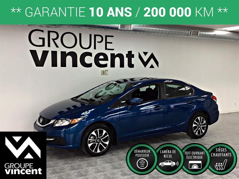 Honda Civic 2015 EX **GARANTIE 10 ANS** #B1269H