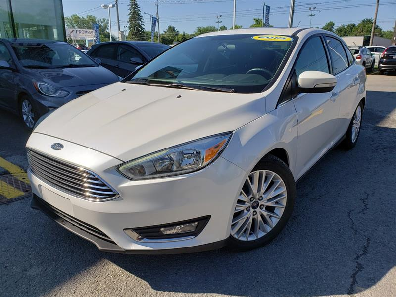 Ford Focus 2015 TITANIUM NAVIGATION,DÉMAR DISTANCE+ #19749A