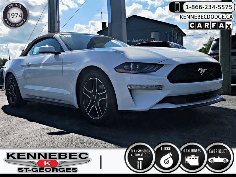 Ford Mustang 2018 EcoBoost Convertible #05095