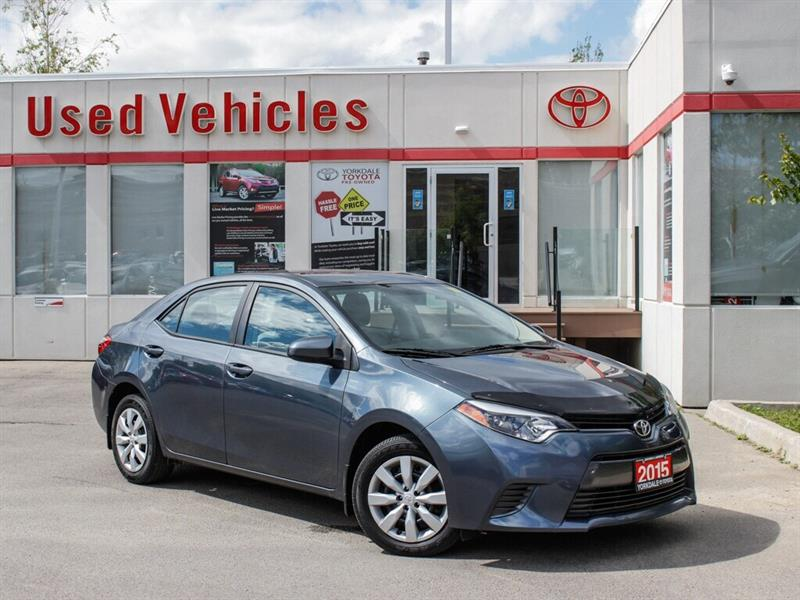 2015 Toyota Corolla LE  HTD SEATS   BCKP CAM #P8013