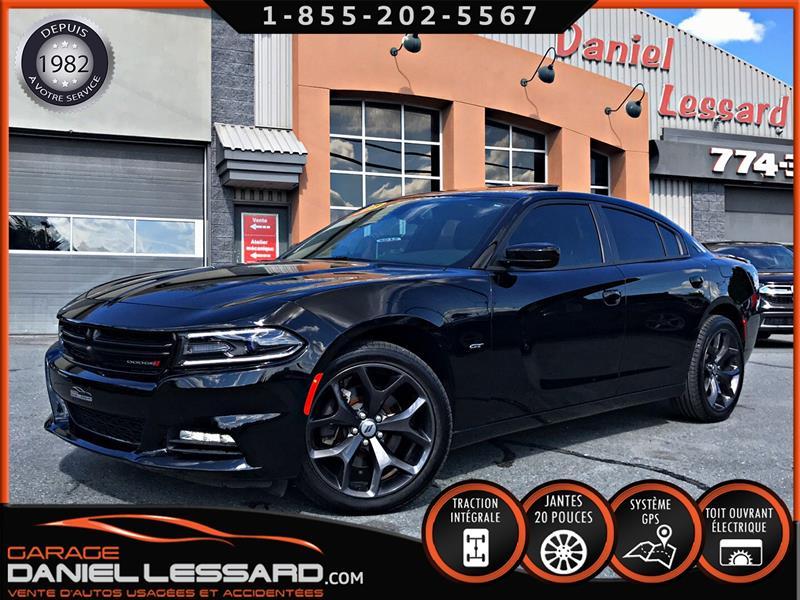 Dodge Charger 2018 GT AWD, V6 3.6 L, GPS, CAM RECUL&SONARD, TOIT, ++ #88403