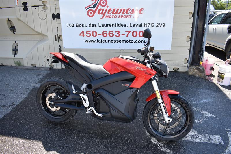 Zero Motorcycles SR 13.0 2017