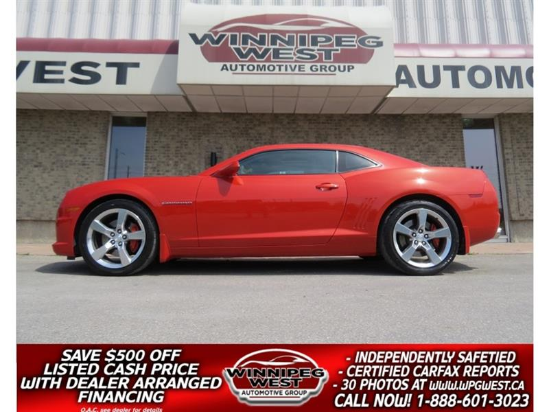 2010 Chevrolet Camaro 2SS/RS INFERNO ORANGE 6 SPD 6.2L LS3 ENGINE, IMMAC #W5133