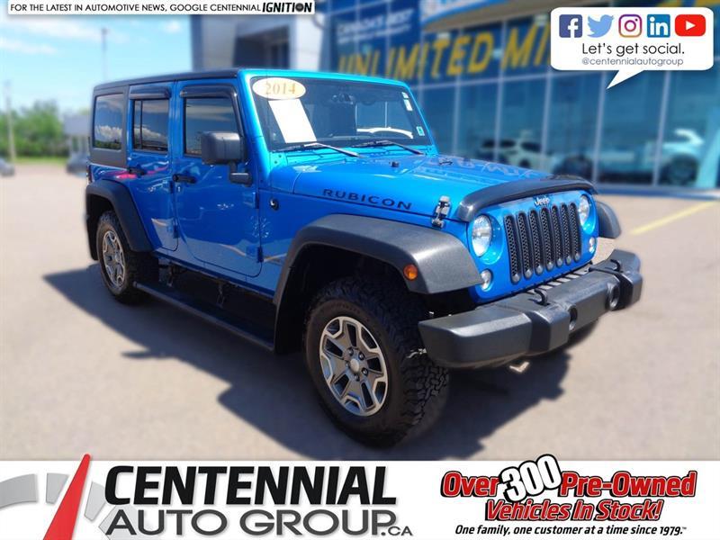 2014 Jeep Wrangler Unlimited RUBICON #6286A