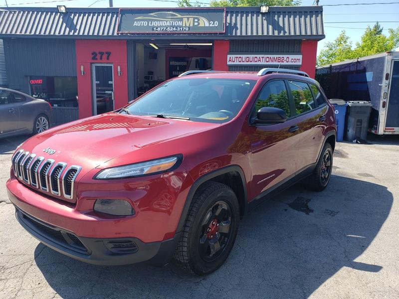 Jeep Cherokee 2014 4WD 4dr Sport #211