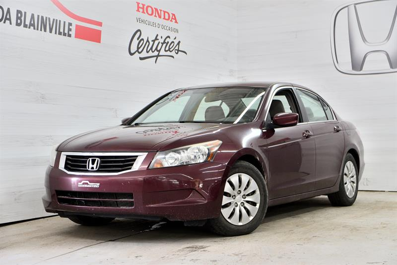 Honda Accord Berline 2008 LX #191236A